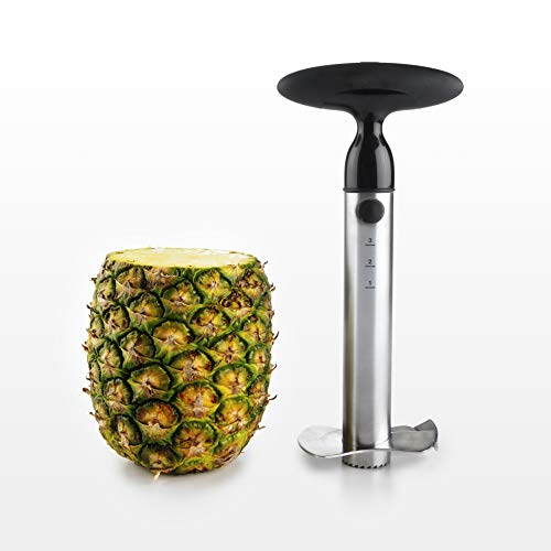 - OXO Good Grips Stainless Steel Ratcheting Pineapple Slicer with Depth Guide
