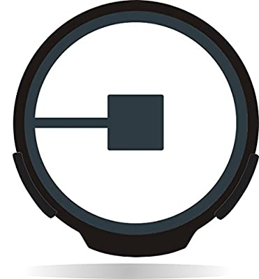 Uber NEW Logo Backlit Sign, Car Sign with No Cord. Motion activated, with Light Sensor! Works with Tinted Windows.