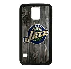 Samsung Galaxy S5 TPU Case with Utah Jazz Team Logo (Laser Technology)-by Allthingsbasketball by ruishername