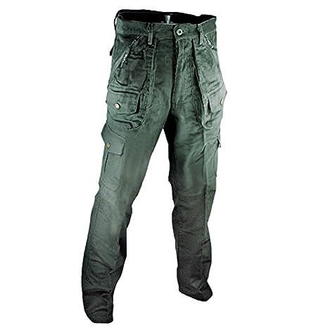 4382ca9e26 Fratelliditalia Pantalone Pantaloni Calzoni Velluto Caccia Uomo Sportivi  Tasche Invernali