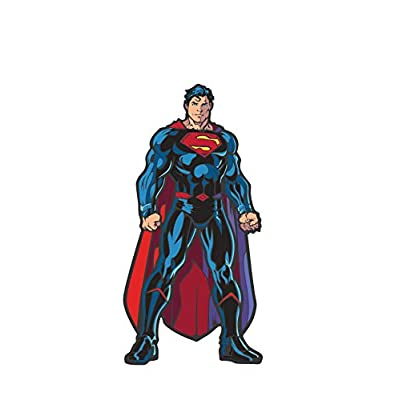 FiGPiN DC Comics Rebirth: Superman - Collectible Pin with Premium Display Case: Video Games