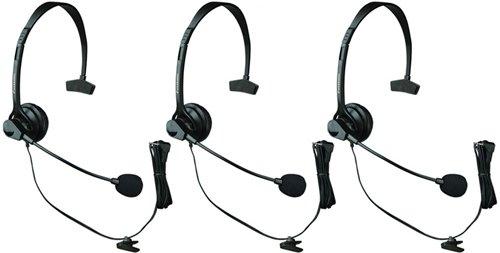 - Panasonic KX-TCA60 Noise Canceling Over the Head Headset (3 Pack)