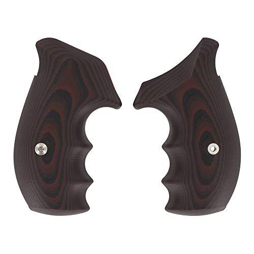 VZ Grips Smith & Wesson N-Frame 320 Round Bottom (Black Cherry) - Cherry 320
