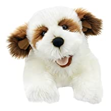 The Puppet Company PC003008 Playful Puppies Dog, Brown & White