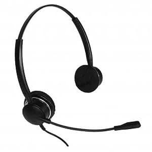 Imtradex Bundle Headset incl. NoiseHelper: BusinessLine 3000 XD Flex auricular binaural para Ascom - Eurit Serie 22 Teléfono, cableado con NC, ASP + NoiseHelper, control y visualización de volumen