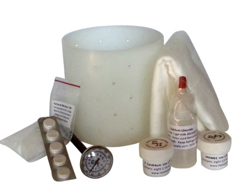 Camembert and Brie Cheese Making Kit by Homesteaders Supply