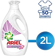 Ariel Con Toque De Downy Detergente Líquido Concentrado Para Ropa Blanca Y De Color, 2000 ml