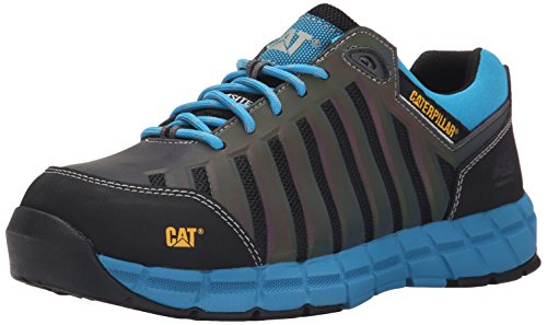 Caterpillar Men's Chromatic Comp Toe Work Athletic Oxford, Dark Shadow, 9.5 W US