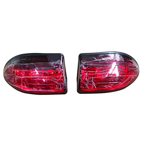 (Club Car Precedent LED Taillight Tail Light 2004-up Rear Light 12V 3 Wires,(2) Tail Light kit Replacements)