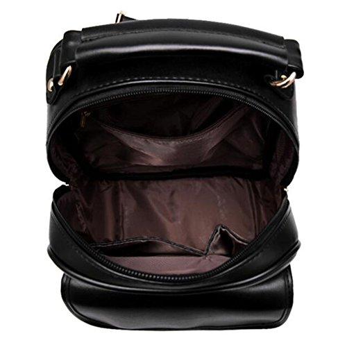 M?dchen-modischer Rucksack-eleganter Schulter-Beutel-Schulrucksack, Rose Rot