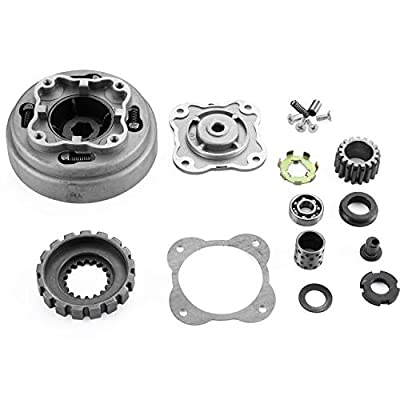 AH Manual Clutch Assembly 17 Teeth For 50cc-125cc Engine Dirt Bikes ATV Go-Kart Taotao Kazuma: Automotive