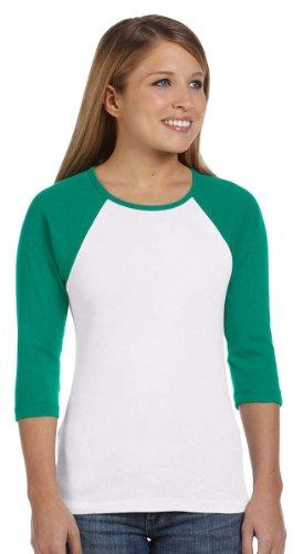 Discount Ladies' 3/4 Sleeve Raglan Tee Shirt hot sale