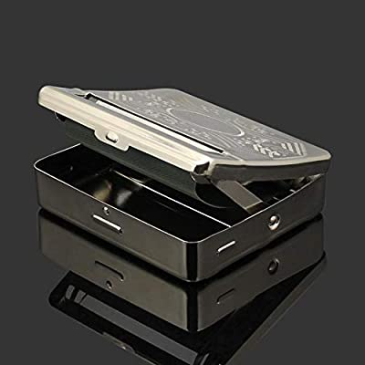 WXGY - Caja de Metal para Hacer Cigarrillos (70 mm): Amazon.es: Hogar