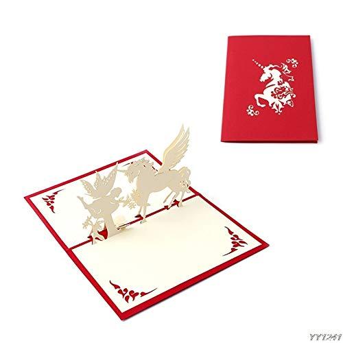 - Cards & Invitations - 3d Stereoscopic Handmade Greeting Card Decoupage Children Festival Postcard Gift Y110 - Spanish Organizers Custom Organizer Boxed Leaving Paint General Minimalist Otte