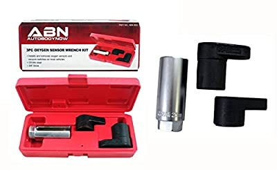 "ABN 3 Piece 3/8"" Drive Oxygen Sensor Wrench Socket Set"