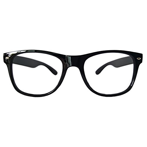 Comfortable Young Classic Retro Fashion Style Ultra-light Glasses Eyewear Frames -NO LENSES - Glasses Fake Kid