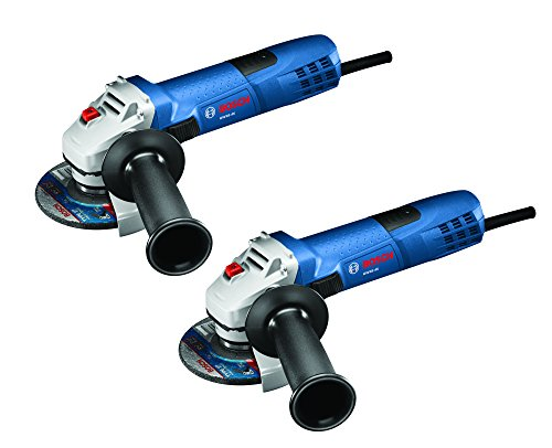 Bosch GWS8-45-2P 4-1/2 inch Small Angle Grinder (2 pack), Blue