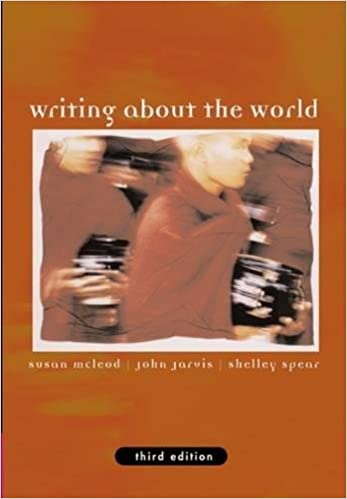 Writing about the world 3rd edition