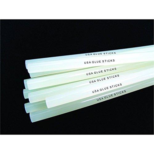 Clear Glue Sticks 10 Lbs - Clear, High Strength Glue Sticks-standard Size 7/16'' X 10'', Approximately 180 Sticks by USA Glue Sticks (Image #1)