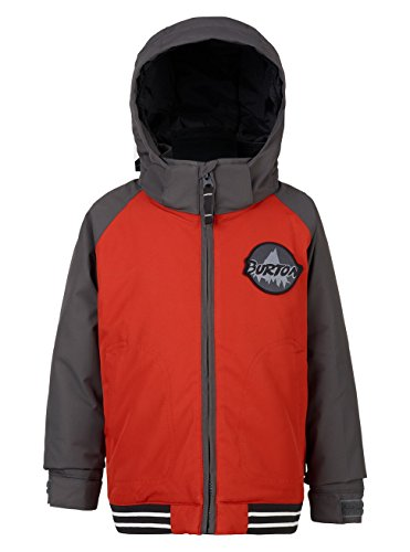 Burton Boys Minishred Game Day Jacket, Bitter/Faded, - Bomber Burton