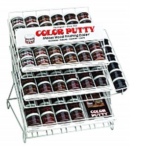 Color Putty 196 Assortment Display with 102 3.68 oz Jars