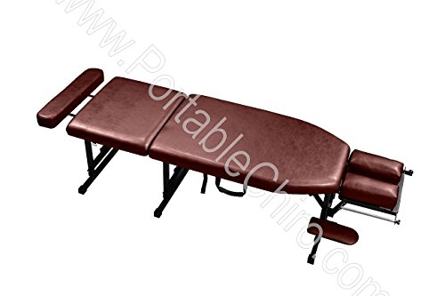 - Standard Portable Chiropractic Table - Burgundy