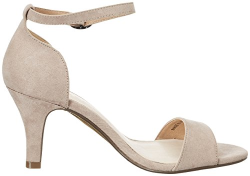 Bianco Damen Low Basic Sandal 35-48757 Pumps Beige (nougat)