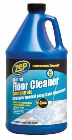 Zep Commercial ZUNEUT128 128 Oz Zep Neutral Floor Cleaner Concentrate