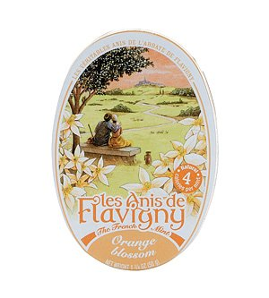 French Hard Candy - Orange Blossom Flavored Hard Candy 50 g by Les Anis de Flavigny