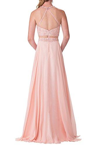 Champagner Elegant Ballkleider A La Rock Steine Festlichkleider Perlen Durchsichtig Abendkleider Partykleider Braut mia Taille Linie Chiffon qTRwZA