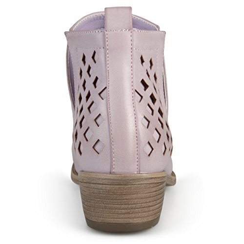 Womens out Booties Journee Cut Ankle Caged Journee Pink Collection Collection tZXgqg