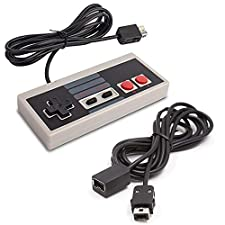 Classic NES Mini Controller with 10 Feet Extended Cable for Nintendo Mini NES Classic Edition(2016)-[3M Extension]