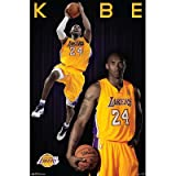 (22x34) Kobe Bryant - Los Angeles Lakers Basketball Poster