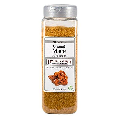 Ground Mace, 16 Ounce Jar -