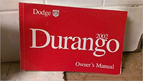 dodge durango 2002 owners manual