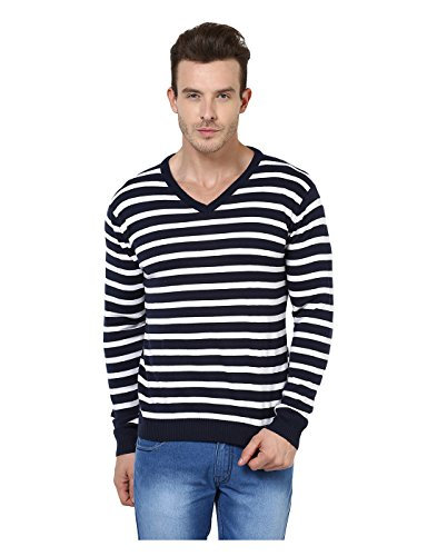 Yepme - Ethan Sweater - Bleu & Blanc