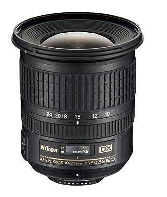 Nikon 10-24mm f/3.5-4.5G ED AF-S DX Nikkor Wide-Angle Zoom Lens for Nikon Digital SLR Cameras by Nikon