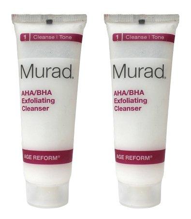 Murad AHA/BHA Exfoliating Cleanser 1 Fluid Ounce (2 Pieces)