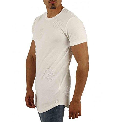 Gov denim Herren T-Shirt weiß weiß