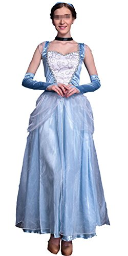 Adult Fairy Tale Dress/Princess Dress/ Queen Dress Halloween Cosplay (Prom Queen Fancy Dress)
