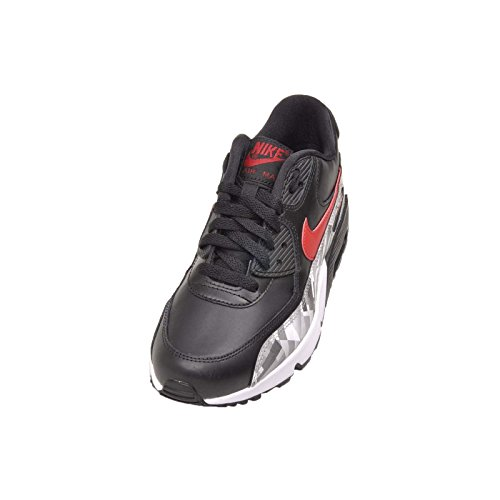 2007 Nike Black Red Zapatillas deporte Max de 90 Air grey wrxr01YqU