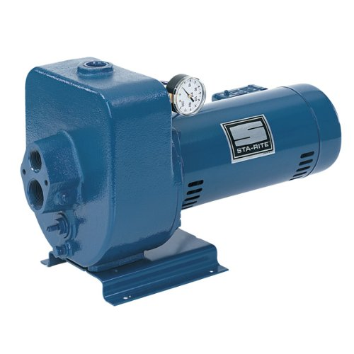 Sta-Rite HMSF 1 1/2 H.P. 1/115-220V, Horizontal Multi-Stage Deep Well Jet Pump with a 1