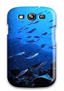 Sanp On Protector For SamSung Galaxy S5 Case Cover (swimming Fish )