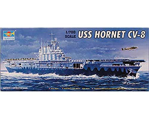 uss hornet model - 8
