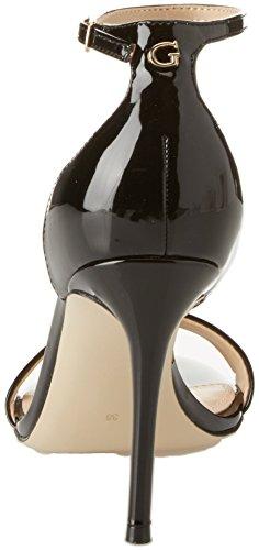 noir Sangle Sandales Noir Cheville Femmes Deviner Pour Chaussures Talons Robe 6nqwvpz