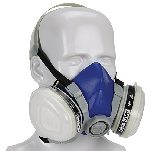 Safety Works 817662 Paint and Pesticide Respirator