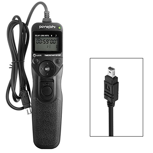 pangshi MC-DC2 LCD Wired Shutter Release Timer Remote Contro