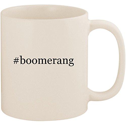 #boomerang - 11oz Ceramic Coffee Mug Cup, White