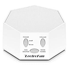 Lectrofan is ideal for relaxation, study, speech privacy, or any Situation where you'd like more control of your audio environment. It's also your personal White noise and fan sound machine to ensure a better night's sleep and peaceful rest. ...