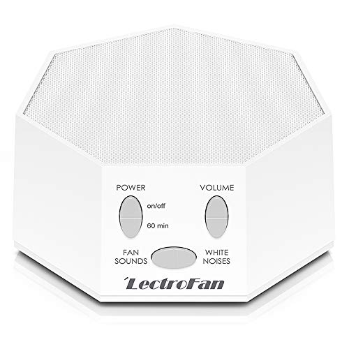 Adaptive Sound Technologies LectroFan High Fidelity White Noise Sound Machine with 20 Unique Non-Looping Fan and White Noise Sounds and Sleep - Junior Blocker
